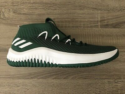 new product 4d186 df335 Adidas Dame 4 Basketball Team Green White Damian Lillard (B76016) New Size  12.5