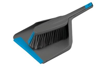 Groundsman Deluxe Cleaning Dustpan & Brush Set with Rubber Lip