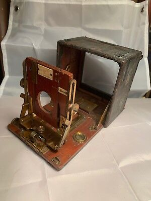 Sanderson Plate Camera For Parts / Renovation Only