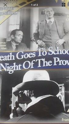 DEATH GOES TO SCHOOL / NIGHT OF THE PROWLER uk region 2 DVD Renown Pictures