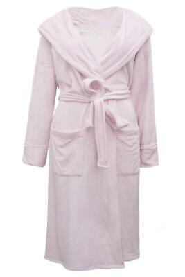 EX M*S Collection Shimmersoft™ Tie Front Dressing Gown Soft Pink