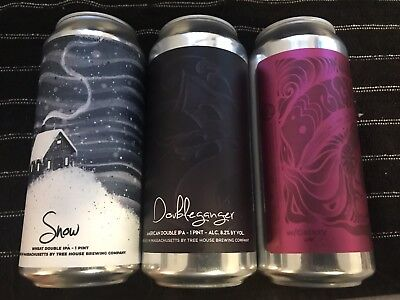 Tree House Brewing - DIPA 3 Pack - Snow, Doubleganger, Bbbright W/Galaxy