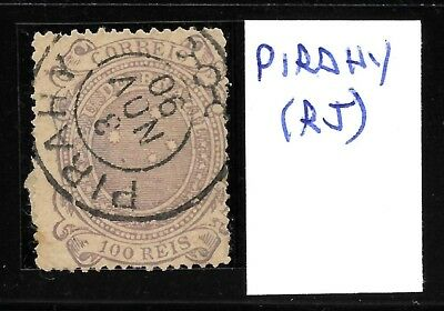 (50046) Brazil Classic Stamps Fantastic Cancel Pirahy