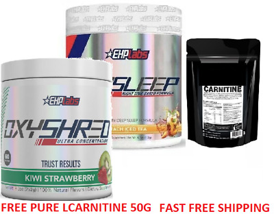 Ehplabs Oxyshred And Oxysleep Thermogenic Weight Loss Fat Burning