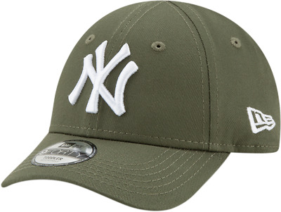 NY Yankees New Era Kids 940 League Essential Olive Baseball Cap (Age 2-10 d1fc195f459d