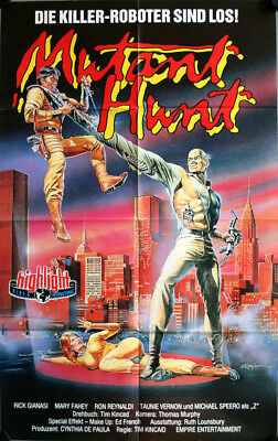 Mutant Hunt Filmposter A1 Videoplakat Rick Gianasi, Mary Fahey, Ron Reynaldi