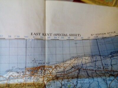1940s map of east kent