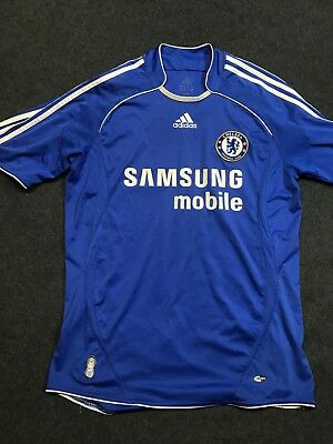 lowest price 2f461 7544f MEN'S MEDIUM ADIDAS Chelsea FC 2007 Home Soccer Football Jersey size