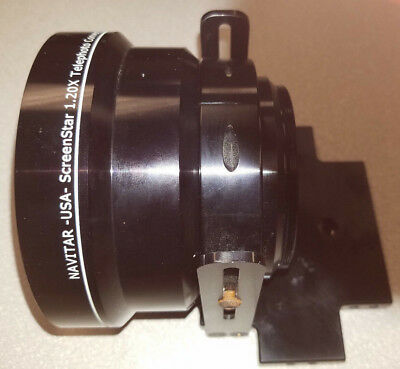 NAVITAR SCREENSTAR SST120 1.2x longthrow conversion lens with mount