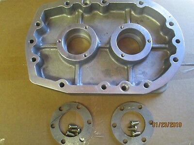 New cast aftermarket 6-71 Blower machine finish front Bearing plate w/retainers
