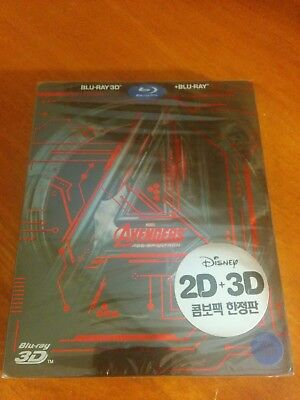 Avengers: Age of Ultron Korean Steel book edition with slipcover