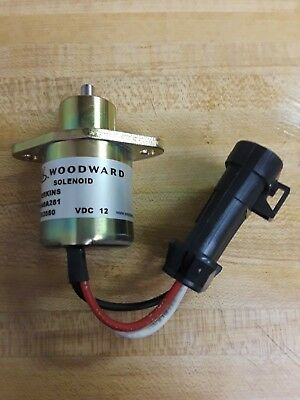 Woodard Fuel Pump Solenoid, 2848A281 Perkins