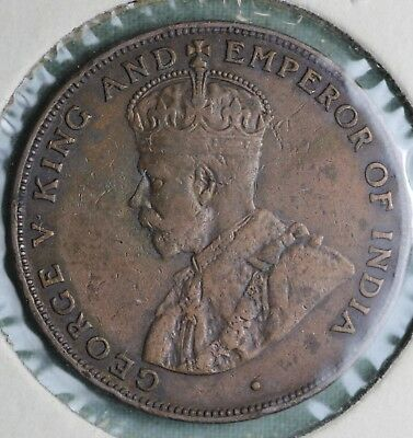 1926 Hong Kong 1 Cent ~ George V~Combined S.& H.