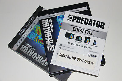 DIGITAL HD The Predator FULL MOVIE C-O-D-E (CANADIAN CODE ONLY-READ)