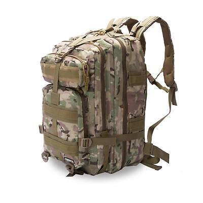 30 45L MOLLE Assault Pack Backpack//Rucksack Military Cadet Army Bag Nitehawk New