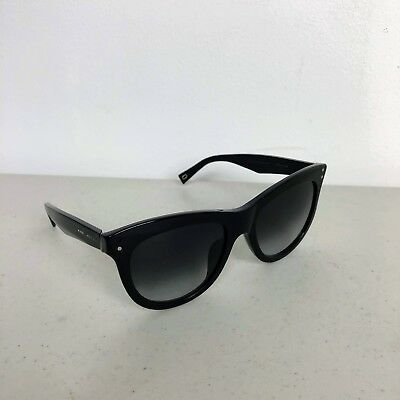 0afc85cdc2f3 Women Marc Jacobs 118/S 8079O Black Oval Round Fashion Sunglasses Cat Eye