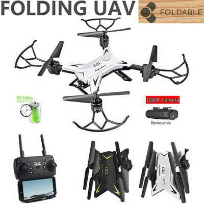 KY101 Foldable WIFI FPV RC Quadcopter Drone with 1080P 5.0MP Camera Selfie Drone