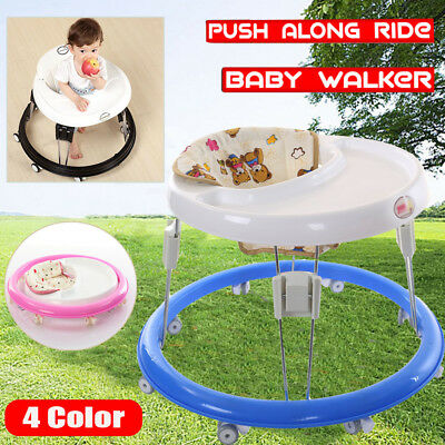 Baby Walker New Travel Stroller Push Toys Fun Adjustable Activity Learn Toddler