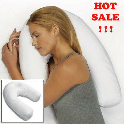 Side Sleeping Sleeper Pro Therapeutic Pillow Neck & Back Spine Sleep New w/o Box