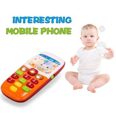 Baby Kids Musical Mobile Phone for Toddler Sound Hearing Educate Learning Toy