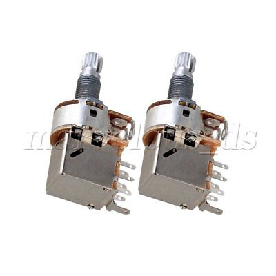 3Pcs Mini Potentiometer Pot Choice of A500K 18mm Volume for Electric Guitars