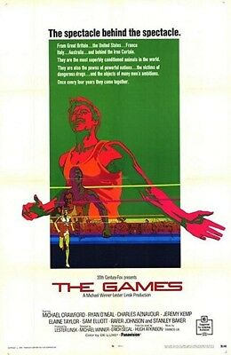 THE GAMES 16mm feature Ryan O'Neal Michael Winner