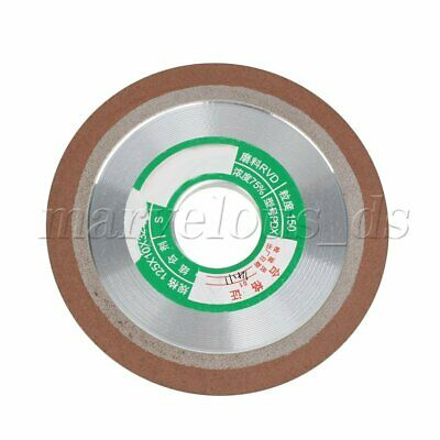 Diamond Coated Flat Lap Wheel Tungsten Sharpener 125mm Dia grinding disk