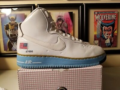 NIKE AIR FORCE 1 One High Birthday Qs Presidential Size 11