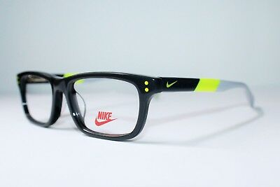 f8093c083f3 BRAND NEW NIKE 5535 060 Dark Grey Volt Authentic Eyeglasses Rx 48-14-130 Mm  -  53.55