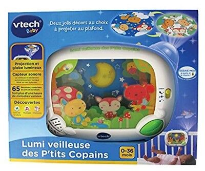 VTECH FRENCH nursery rhymes night baby light projector