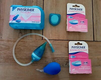 Physiomer Baby Nose Blower Nasal Aspirator baby from 1 mth