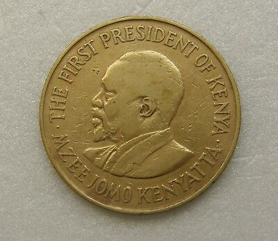 Kenya Coin 10 Cents 1971 30mm