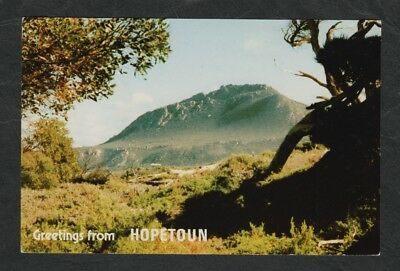 e3008)  1980  POSTCARD OF  MT BARRENS, HOPETOUN IN WESTERN AUSTRALIA