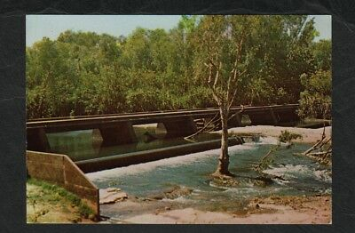 e3177 )          WESTERN AUSTRALIA POSTCARD - LOW LEVEL RESERVE KATHERINE