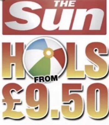 £9.50 Sun Holidays Booking Codes ALL 10 Codes RAPID RESPONSE