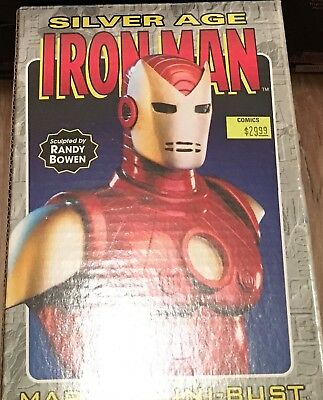 Iron man (silver age) Randy Bowen mini Bust