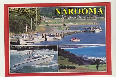 Multiscene Narooma Nsw Scancolor Postcard