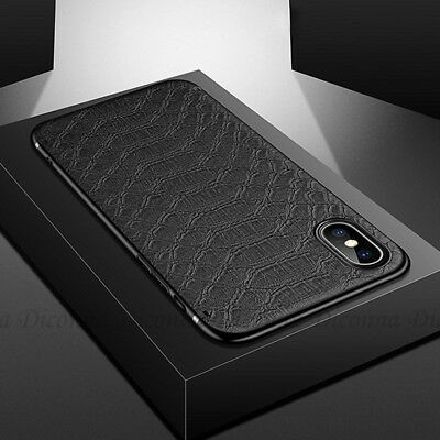 Case for iPhone 8 7 Plus X XS XR XSMAX Carbon Fibre Soft Cover TPU Silicone Slim