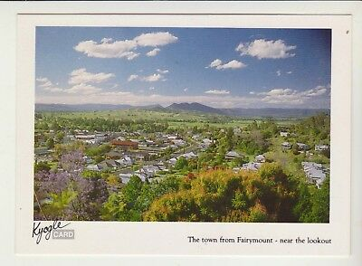 From Fairymount Overlooking Kyogle Nsw Kyogle Printers Postcard