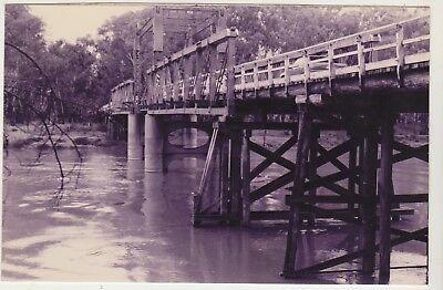 Barooga Bridge Cobram Victoria Photo Postcard