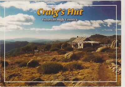 Craigs Hut 50Km From Mansfield Victoria Imagine That Postcard