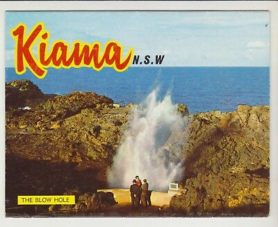 Foldout Kiama Nsw 11 Scenes  Murray Views Postcard