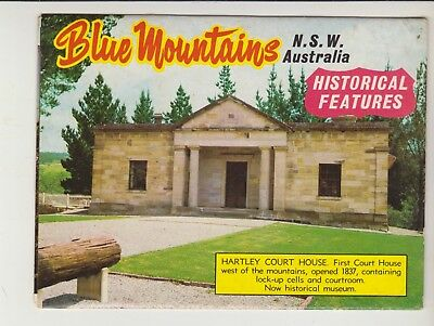 Foldout Historical Features Blue Mountains Nsw 11 Scenes  Murray Views Postcard