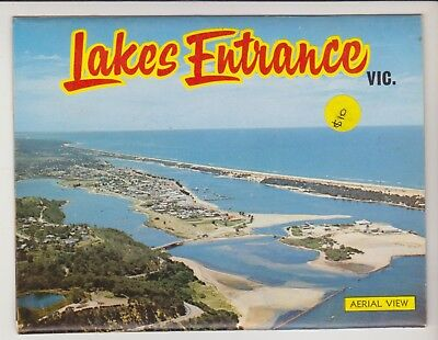 Foldout Lakes Entrance Victoria 11 Scenes Murray Views Postcard