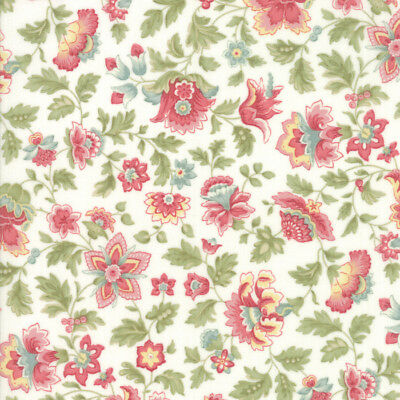 Moda 3 Sisters Cinnaberry Quilt Fabric Winter Blooms Cranberry Style 44202//11