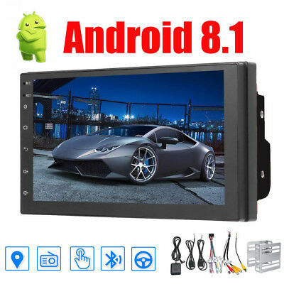 Android 8.1 Car Stereo GPS Navigation Radio Double 2 Din NO DVD Player