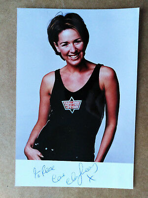 Actress - Claire Sweeney - Original Signed Photo & Letter - Dedicated to REX