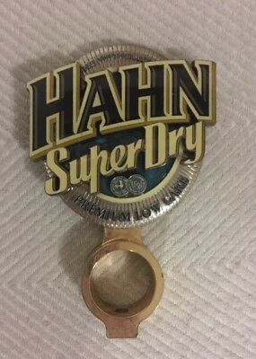 Tap Beer Decal Hahn Superdry Retro with Mount Metal Badge Top Free Postage!