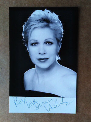 Actress - Denise Welch - Original Signed Photo - Dedicated to REX