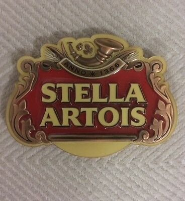 Tap Beer Decal Stella Artois Belgium Metal Badge Top Free Postage!